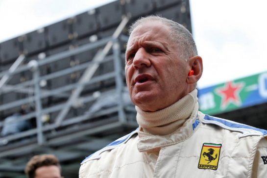 Jody Scheckter (RSA). 06.09.2019. Formula 1 World Championship, Rd 14, Italian Grand Prix, Monza, Italy, Practice Day. - www.xpbimages.com, EMail: requests@xpbimages.com - copy of publication required for printed pictures. Every used picture is fee-liable. © Copyright: Batchelor / XPB Images