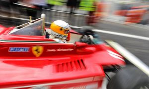Scheckter and Ferrari fly back down memory lane!