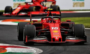 Leclerc edges Hamilton in second free practice at Monza