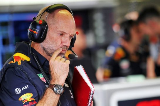 Adrian Newey (GBR) Red Bull Racing Chief Technical Officer.