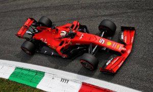 Vettel keeps Ferrari on top in final practice session