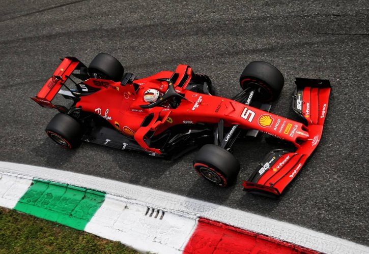 Vettel edges closer to race ban after Italian GP incident