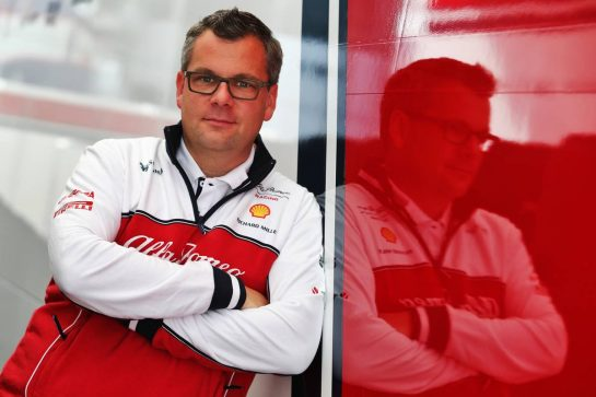 Jan Monchaux, Alfa Romeo Racing Technical Director.