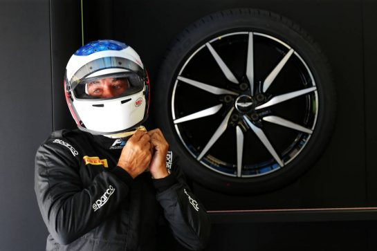 Jean Alesi (FRA) demonstrates the 2020 Pirelli F1 18 inch tyres in an F2 car. 07.09.2019. Formula 1 World Championship, Rd 14, Italian Grand Prix, Monza, Italy, Qualifying Day.  - www.xpbimages.com, EMail: requests@xpbimages.com - copy of publication required for printed pictures. Every used picture is fee-liable. © Copyright: Bearne / XPB Images