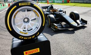 Pirelli and Alesi preview new 18-inch tyre at Monza