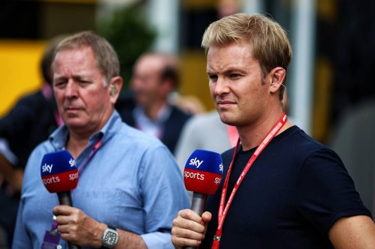 Nico Rosberg (GER) Sky Sports F1 Presenter. 07.09.2019. Formula 1 World Championship, Rd 14, Italian Grand Prix, Monza, Italy, Qualifying Day.  - www.xpbimages.com, EMail: requests@xpbimages.com - copy of publication required for printed pictures. Every used picture is fee-liable. © Copyright: Filipe / XPB Images