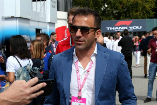 Alessandro Del Piero (ITA) Former Football Player. 