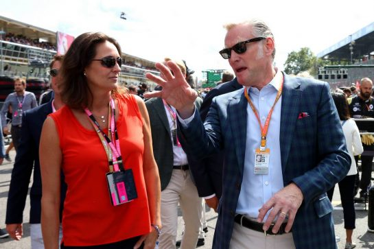 Sean Bratches (USA) Formula 1 Managing Director.