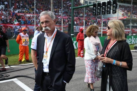 Chase Carey (USA) Formula One Group Chairman