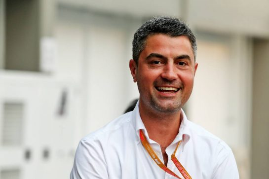 Michael Masi (AUS) FIA Race Director.