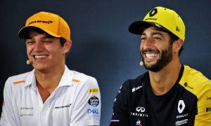 Ricciardo/Norris will be 'most exciting' 2021 line-up