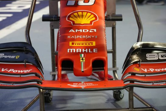 Ferrari front wing and nose cone.