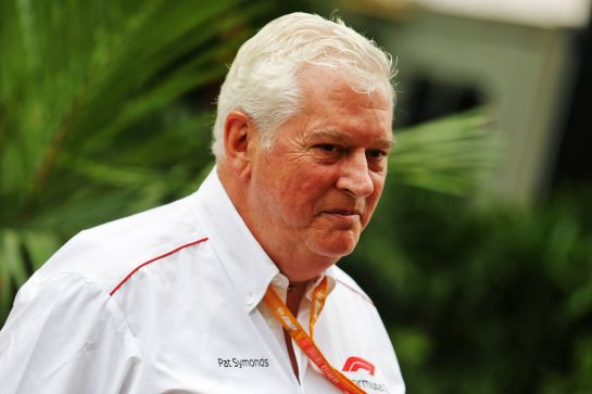 Pat Symonds (GBR) Formula 1 Technical Consultant. 20.09.2019. Formula 1 World Championship, Rd 15, Singapore Grand Prix, Marina Bay Street Circuit, Singapore, Practice Day. - www.xpbimages.com, EMail: requests@xpbimages.com - copy of publication required for printed pictures. Every used picture is fee-liable. © Copyright: Moy / XPB Images