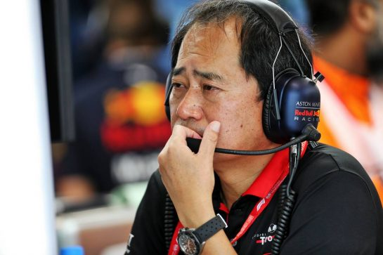 Toyoharu Tanabe (JPN) Honda Racing F1 Technical Director. 20.09.2019. Formula 1 World Championship, Rd 15, Singapore Grand Prix, Marina Bay Street Circuit, Singapore, Practice Day. - www.xpbimages.com, EMail: requests@xpbimages.com - copy of publication required for printed pictures. Every used picture is fee-liable. © Copyright: Batchelor / XPB Images