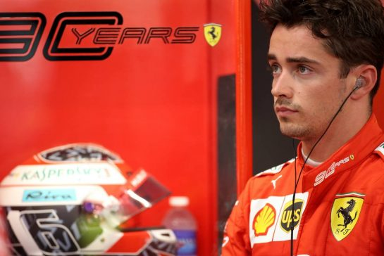 Charles Leclerc (FRA), Scuderia Ferrari  20.09.2019. Formula 1 World Championship, Rd 15, Singapore Grand Prix, Marina Bay Street Circuit, Singapore, Practice Day. - www.xpbimages.com, EMail: requests@xpbimages.com - copy of publication required for printed pictures. Every used picture is fee-liable. © Copyright: Charniaux / XPB Images