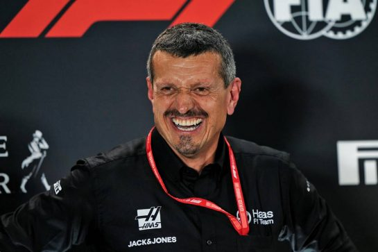 Guenther Steiner (ITA) Haas F1 Team Prinicipal in the FIA Press Conference. 20.09.2019. Formula 1 World Championship, Rd 15, Singapore Grand Prix, Marina Bay Street Circuit, Singapore, Practice Day.  - www.xpbimages.com, EMail: requests@xpbimages.com - copy of publication required for printed pictures. Every used picture is fee-liable. © Copyright: Dungan / XPB Images