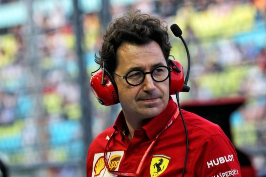 Mattia Binotto (ITA) Ferrari Team Principal. - www.xpbimages.com, EMail: requests@xpbimages.com - copy of publication required for printed pictures. Every used picture is fee-liable. © Copyright: Photo4 / XPB Images