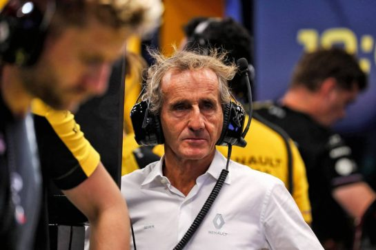 Alain Prost (FRA) Renault F1 Team Special Advisor. - www.xpbimages.com, EMail: requests@xpbimages.com - copy of publication required for printed pictures. Every used picture is fee-liable. © Copyright: Photo4 / XPB Images