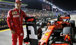 Brilliant Leclerc stuns Hamilton for Singapore GP pole