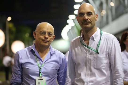 Michael Orts and Benjamin Durand the co-founders of Panthera.21.09.2019. Formula 1 World Championship, Rd 15, Singapore Grand Prix, Marina Bay Street Circuit, Singapore, Qualifying Day.- www.xpbimages.com, EMail: requests@xpbimages.com - copy of publication required for printed pictures. Every used picture is fee-liable. © Copyright: Batchelor / XPB Images