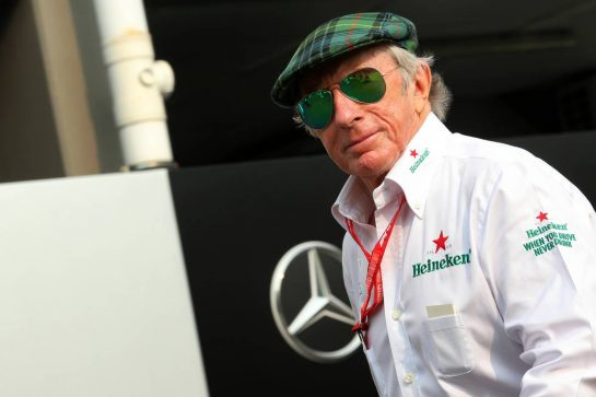 Jackie Stewart (GBR). 22.09.2019. Formula 1 World Championship, Rd 15, Singapore Grand Prix, Marina Bay Street Circuit, Singapore, Race Day. - www.xpbimages.com, EMail: requests@xpbimages.com - copy of publication required for printed pictures. Every used picture is fee-liable. © Copyright: Batchelor / XPB Images