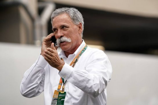 Chase Carey (USA) Formula One Group Chairman. 22.09.2019. Formula 1 World Championship, Rd 15, Singapore Grand Prix, Marina Bay Street Circuit, Singapore, Race Day.  - www.xpbimages.com, EMail: requests@xpbimages.com - copy of publication required for printed pictures. Every used picture is fee-liable. © Copyright: Dungan / XPB Images