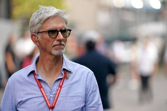 Damon Hill (GBR) Sky Sports Presenter. 22.09.2019. Formula 1 World Championship, Rd 15, Singapore Grand Prix, Marina Bay Street Circuit, Singapore, Race Day.  - www.xpbimages.com, EMail: requests@xpbimages.com - copy of publication required for printed pictures. Every used picture is fee-liable. © Copyright: Dungan / XPB Images
