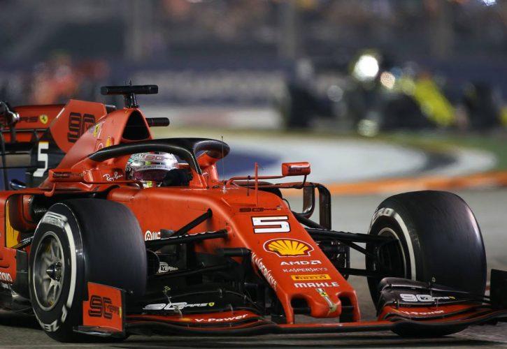 Sebastian Vettel (GER), Scuderia Ferrari 22.09.2019.