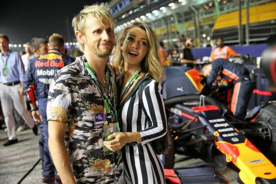 VIPS on the grid. 22.09.2019. Formula 1 World Championship, Rd 15, Singapore Grand Prix, Marina Bay Street Circuit, Singapore, Race Day. - www.xpbimages.com, EMail: requests@xpbimages.com - copy of publication required for printed pictures. Every used picture is fee-liable. © Copyright: Batchelor / XPB Images