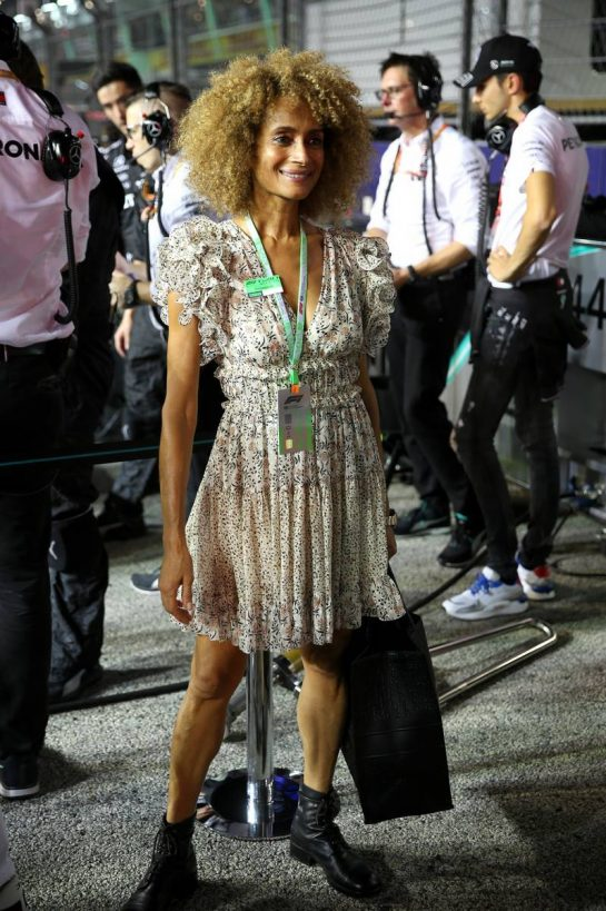VIP on the grid. 22.09.2019. Formula 1 World Championship, Rd 15, Singapore Grand Prix, Marina Bay Street Circuit, Singapore, Race Day. - www.xpbimages.com, EMail: requests@xpbimages.com - copy of publication required for printed pictures. Every used picture is fee-liable. © Copyright: Batchelor / XPB Images