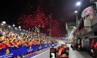 Race winner Sebastian Vettel (GER) Ferrari SF90 in parc ferme.