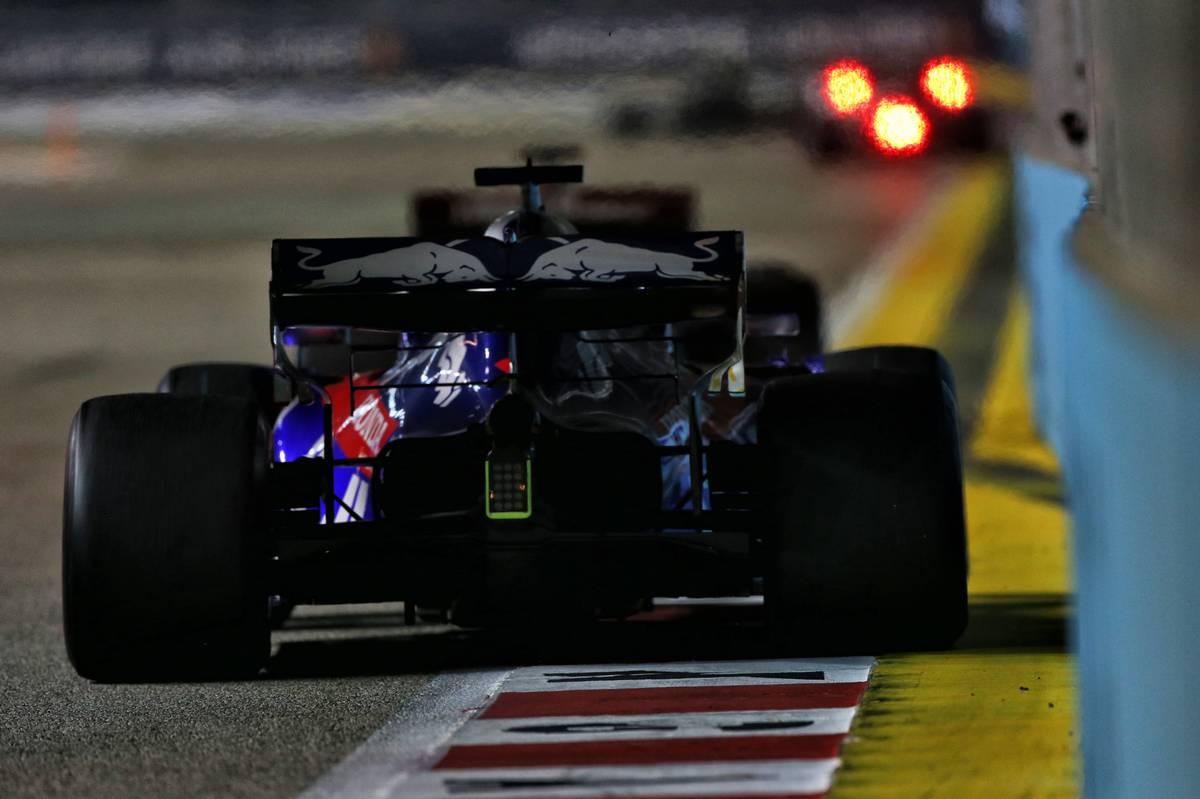 Daniil Kvyat (RUS) Scuderia Toro Rosso STR14.