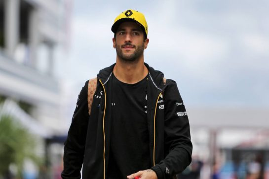 Daniel Ricciardo (AUS) Renault F1 Team. 26.09.2019. Formula 1 World Championship, Rd 16, Russian Grand Prix, Sochi Autodrom, Sochi, Russia, Preparation Day.  - www.xpbimages.com, EMail: requests@xpbimages.com - copy of publication required for printed pictures. Every used picture is fee-liable. © Copyright: Filipe / XPB Images