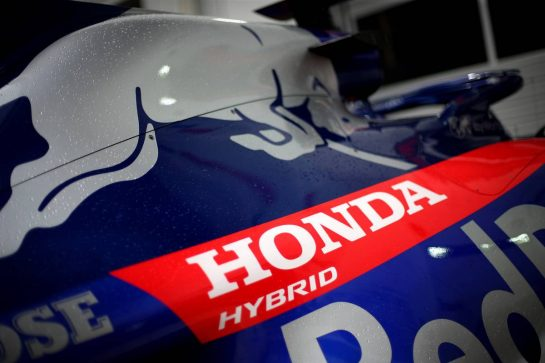 Honda26.09.2019. Formula 1 World Championship, Rd 16, Russian Grand Prix, Sochi Autodrom, Sochi, Russia, Preparation Day.- www.xpbimages.com, EMail: requests@xpbimages.com - copy of publication required for printed pictures. Every used picture is fee-liable. © Copyright: Charniaux / XPB Images