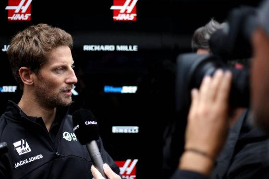 Romain Grosjean (FRA), Haas F1 Team 26.09.2019. Formula 1 World Championship, Rd 16, Russian Grand Prix, Sochi Autodrom, Sochi, Russia, Preparation Day.- www.xpbimages.com, EMail: requests@xpbimages.com - copy of publication required for printed pictures. Every used picture is fee-liable. © Copyright: Charniaux / XPB Images