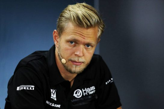 Kevin Magnussen (DEN) Haas F1 Team in the FIA Press Conference. 26.09.2019. Formula 1 World Championship, Rd 16, Russian Grand Prix, Sochi Autodrom, Sochi, Russia, Preparation Day.  - www.xpbimages.com, EMail: requests@xpbimages.com - copy of publication required for printed pictures. Every used picture is fee-liable. © Copyright: Filipe / XPB Images