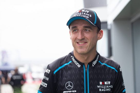 Robert Kubica (POL) Williams Racing. 26.09.2019. Formula 1 World Championship, Rd 16, Russian Grand Prix, Sochi Autodrom, Sochi, Russia, Preparation Day.  - www.xpbimages.com, EMail: requests@xpbimages.com - copy of publication required for printed pictures. Every used picture is fee-liable. © Copyright: Bearne / XPB Images