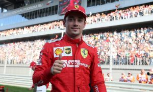 Four-in-a-row Leclerc aiming to keep 'feet on the ground'
