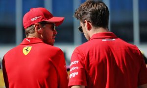 Vettel and Leclerc 'difficult to manage' from the start