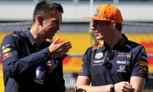 Being Verstappen's team mate gives Albon 'the best data'