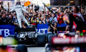 Hamilton happy to be back on top after 'long time coming'