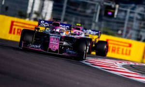 Sergio Perez hails 'just perfect' race in Russia