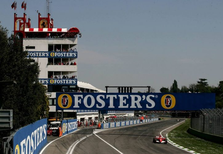 Michael Schumacher (GER), Scuderia Ferrari, 248 F1 - Formula 1 World Championship, Rd 4, San Marino Grand Prix