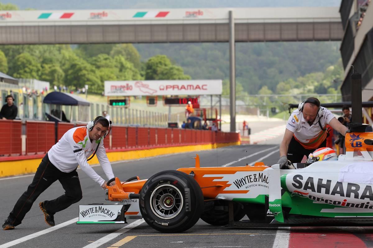 Paul di Resta (GBR), Sahara Force India Formula One Team 03.05.2012.