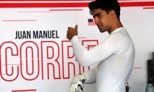 F2 racer Correa 'improving slightly' in hospital