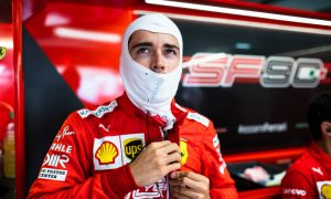Leclerc looking forward to development of 2020 car