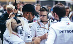 Hamilton race engineer Bonnington absent in Mexico and Austin