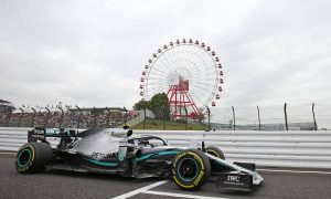 Bottas sets the pace in Japanese GP first practice