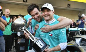 Bottas 'proud and happy' for every Mercedes team member