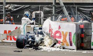 Mercedes confirms Bottas' car 'extensively damaged' after Q3 crash